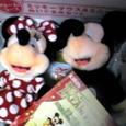 25.ミッキー&ミニーぬいぐるみ